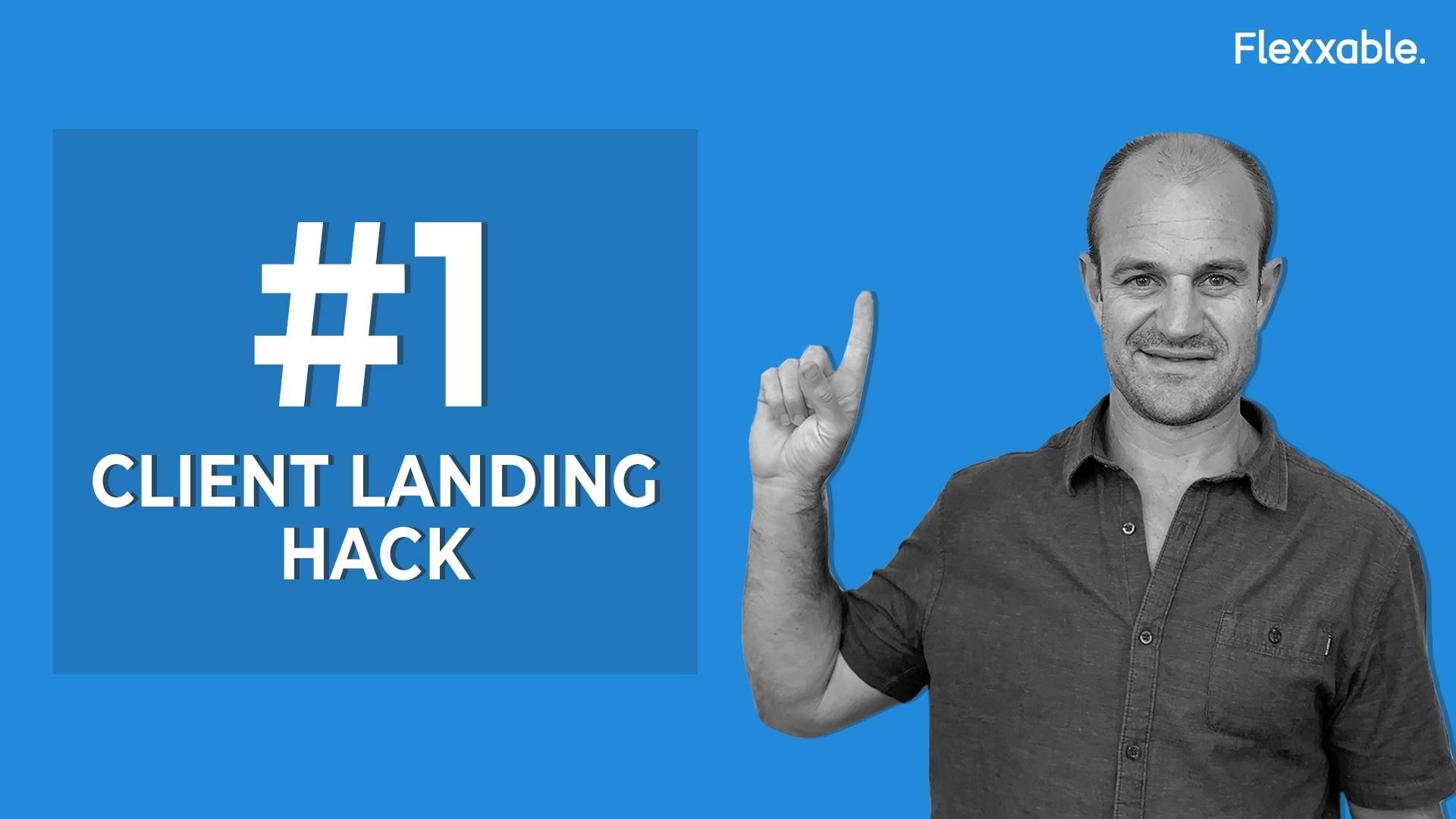 client landing hack